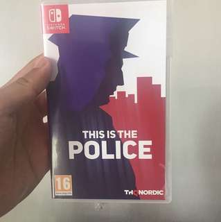 WTS/WTT This Is The Police Nintendo Switch