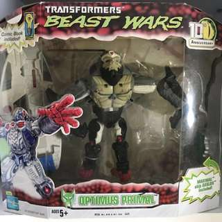 Transformers Hasbro Beast Wars Optimus Prime