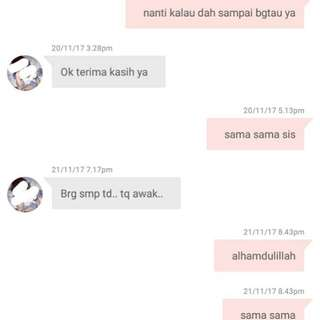 Trusted seller.. tq for buy with us!