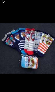 Instock Paw Patrol Socks Suitable For Size 12-16cm Brand New 3pair Set
