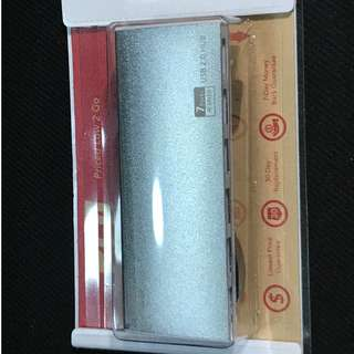 PLG Aluminium USB 2.0 COMBO (Silver) (7 ports)