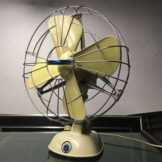 60s modern vintage Italy table fan classic