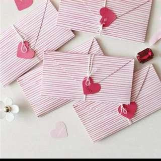 Creative love letter