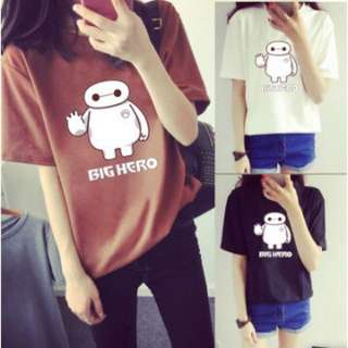 READY STOCK HOT WOMEN SUMMER T-SHIRT SHORT SLEEVE O-NECK CUTE CARTOON RM 22.00 exc delivery