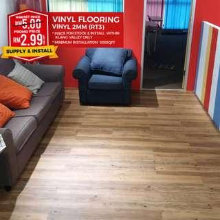 Promo Wood Vinyl Flooring - Don't Delay, Get Yours Now!!