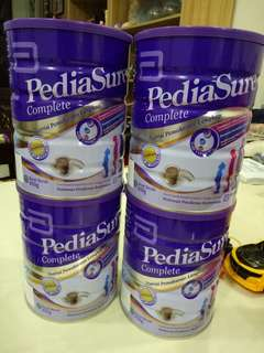 Pediasure chocolate each rm80
