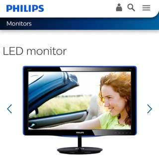 Philips LED monitor 飛利浦電腦顯示器
