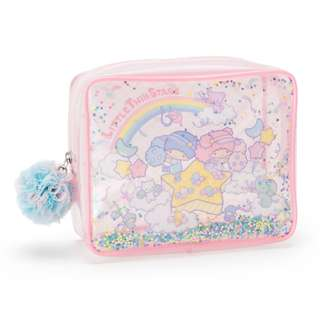 Japan Sanrio Little Twin Stars Square Vinyl Pouch (Star of the Sky)
