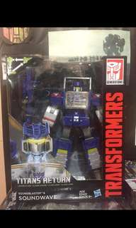Transformer titans return-leader class sounwave