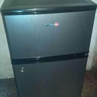 Fujidenzo mini refrigerator two door