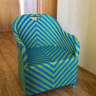 weave kiddie chair