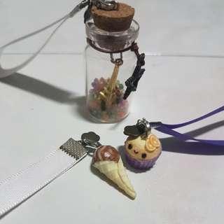 Random keychains i made