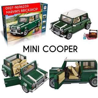 For Sale Mini Cooper Building Blocks Toy