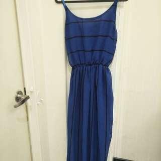 Blue Maxi Dress 3 for $10