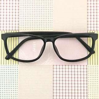 🚚 個性純黑無框眼鏡#穿搭配件