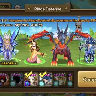 Summoner war Asia 19 core nat 5
