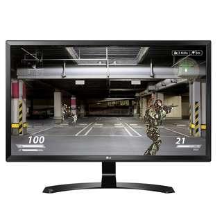 "LG 24"" 4K UHD 超高清電腦顯示器 [24UD58-B] (原廠上門保用)"