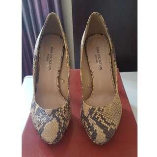 Zara Snake Pattern Stilettos