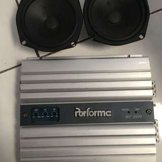 power audio + midbass