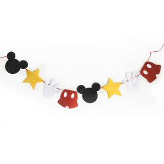 Mickey 8pcs Mixed Garlands