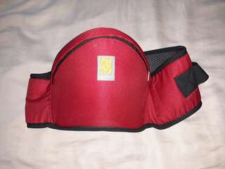 REPRICED Baby hip seat carrier