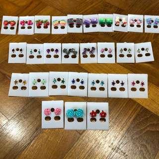 Earrings (Buy 5 get 1 free)
