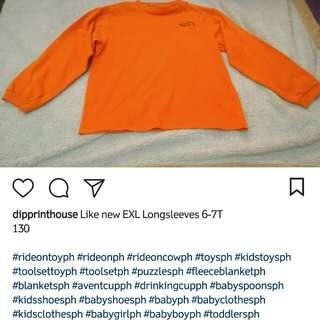 Like new EXL Longsleeves 6-7T