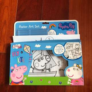 Peppa pig colouring (without Pens )