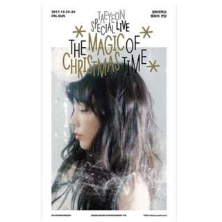 TAEYEON SPECIAL LIVE - THE MAGIC OF CHRISTMAS TIME
