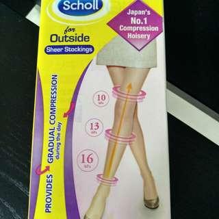 Scholl Sheer Compression Socks / Stockings