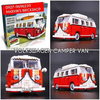 For Sale Volkswagen Camper Van Building Blocks Toy
