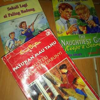 Novel Remaja Enid Blyton