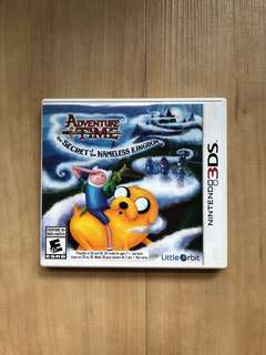 Adventure Time Secret Of The Nameless Kingdom 3DS