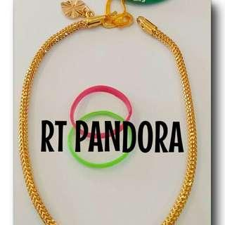 Pandora Bracelet (Gold 916)