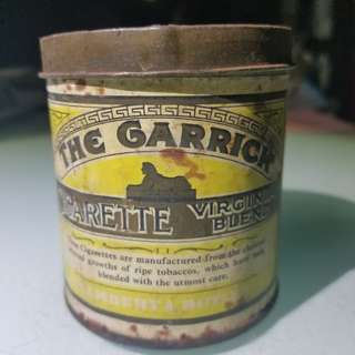 生秀爛煙仔罐 the garrick cigarettes box