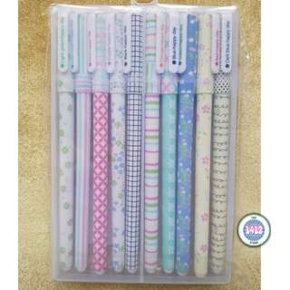 (Set of 10) Simple print pens