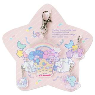 Japan Sanrio Little Twin Stars Acrylic Charm Set (Cheer of Starry Sky)