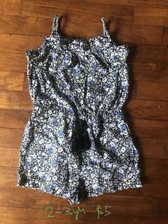 Cotton On Romper 2-3 years old