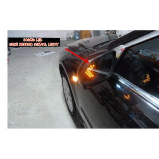 (4) Side Mirror Arrow Signal Light