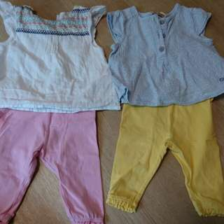 Baby girl clothes suitable for 1-6 months