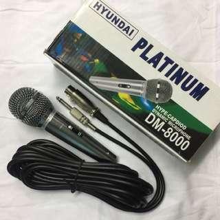 Platinum Microphone