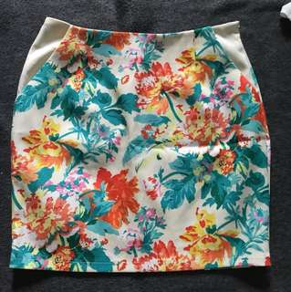 💥Floral Skirt with Pockets