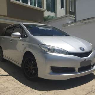 Kereta Sewa Car Rental Toyota Wish KL 0192057878