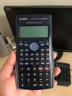 Casio Scientific Calculator fx-82AU (MOE approved student calculator for math and science)