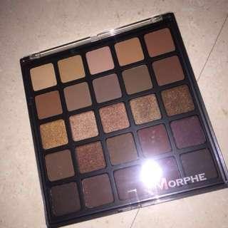 Morphe 25B Bronzed Mocha Palette brand new