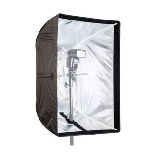 Pxel FU5070 Photo Studio 50 x 70cm Rectangle Umbrella Softbox Diffuser For SpeedLight Flash