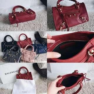 Balenciaga Classic Ghw Mini City Bag