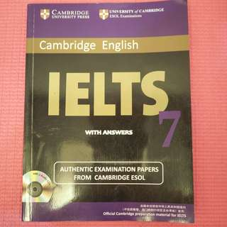 Cambridge IELTS 7 Student's Book with Answers : Examination Papers from University of Cambridge ESOL Examinations