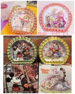 🇯🇵日本💫迪士尼💫卡通人物鬧鐘
