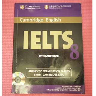 Cambridge IELTS 8 Student's Book with Answers : Examination Papers from University of Cambridge ESOL Examinations
